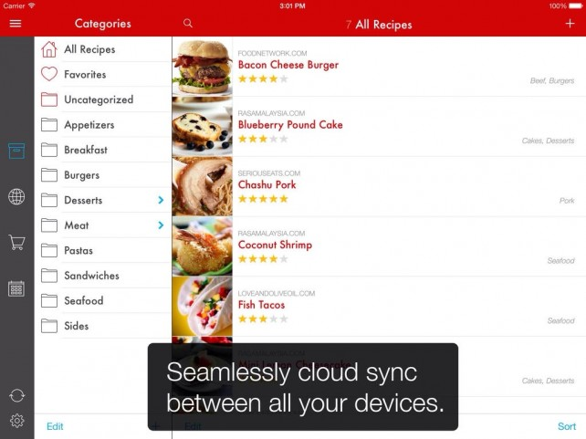 Paprika Recipe Manager's iOS 7 Update Is Filled With A Lot Of Nice Ingredients