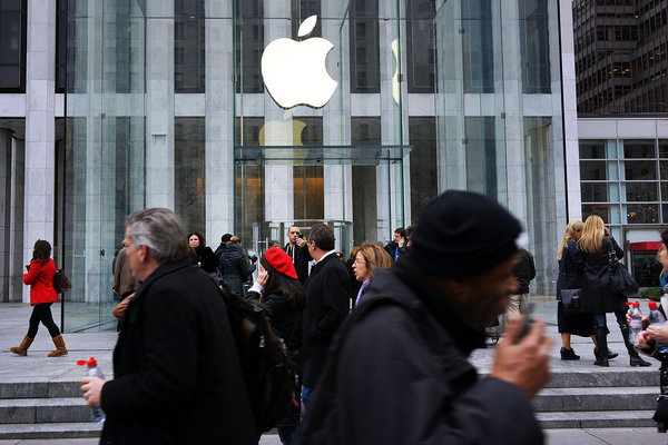 Apple Retail Store Sales Losing Steam Ahead Of Ahrendts' Debut