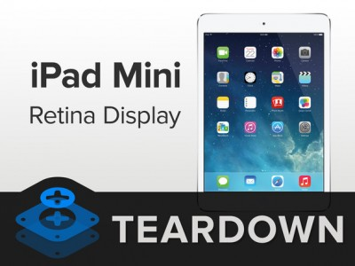 What Does The iFixit iPad mini With Retina Display Teardown Reveal?