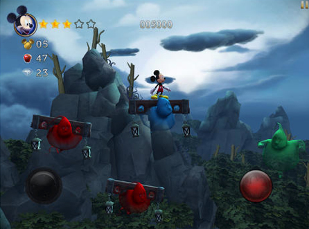 Castle Of Illusion Starring Mickey Mouse Storms Into The App Store