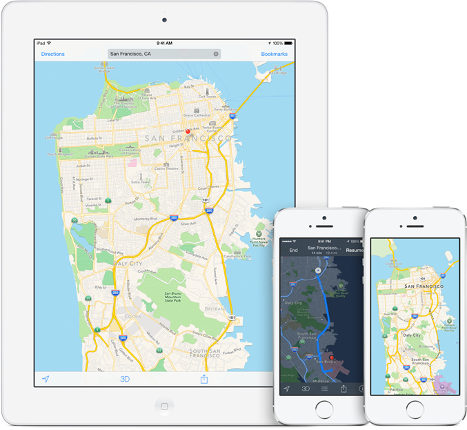 Apple Maps Is Proving To Be Quite Popular Despite A Poor Start