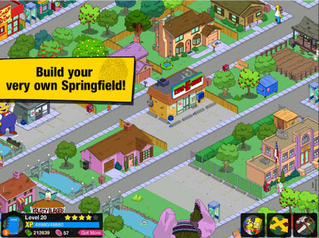 The Simpsons: Tapped Out Update Brings Some Thanksgiving Fun To The Table