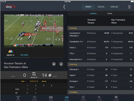 SlingPlayer For iPad Update Brings A Revamped Interface, Focus On Content Discovery