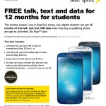 Sprint, Best Buy Offer Students Free Text, Talk And Data For A Year With Phone Purchase