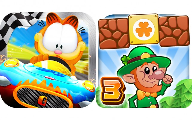Today's Best Apps: Garfield Kart And Lep's World 3
