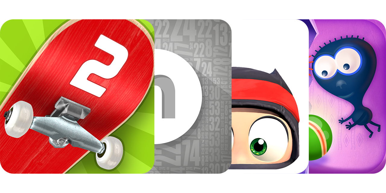 Today's Best Apps: Touchgrind Skate 2, Numerity, Clumsy Ninja And More