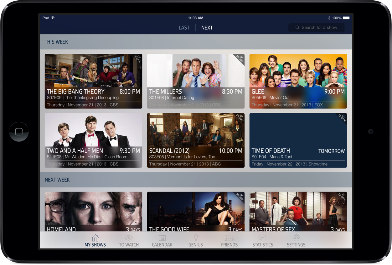 Track All Of Your Favorites With iTV Shows 3