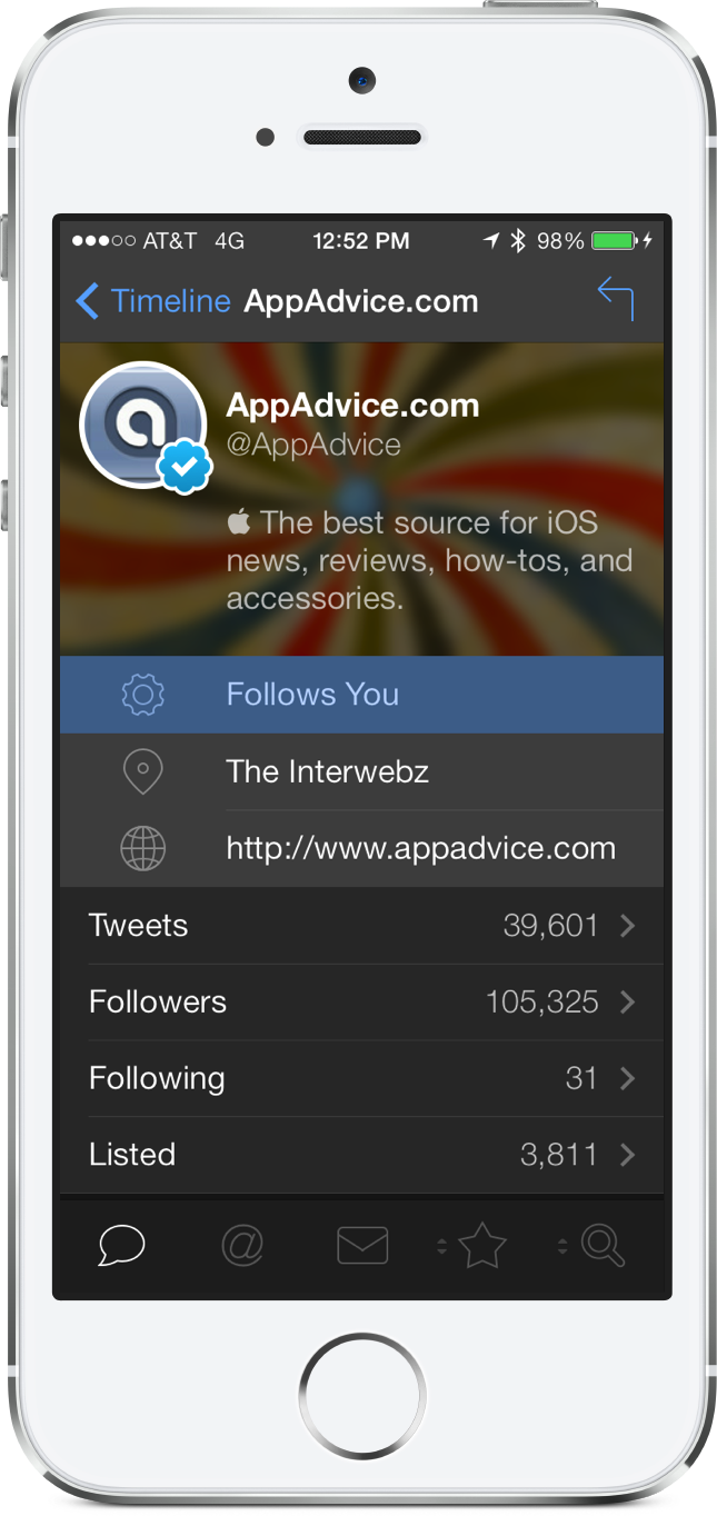 Tapbots Unveils A New Nighttime Theme For The Tweetbot 3 For iPhone App