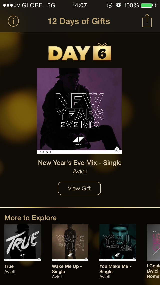 Day 6 Of Apple's 12 Days Of Gifts Appropriately Offers Avicii's 'New Year's Eve Mix'
