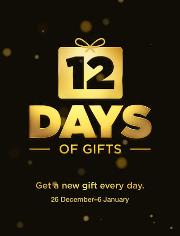 Apple Releases 12 Days Of Gifts Holiday Giveaway App, Also Available In US