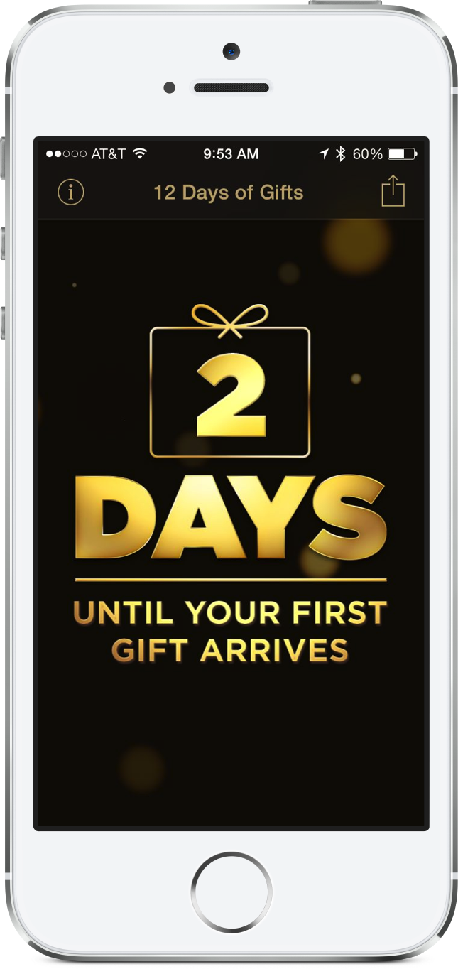 Reminder: Apple's 12 Days Of Gifts Promotion Begins On Dec. 26