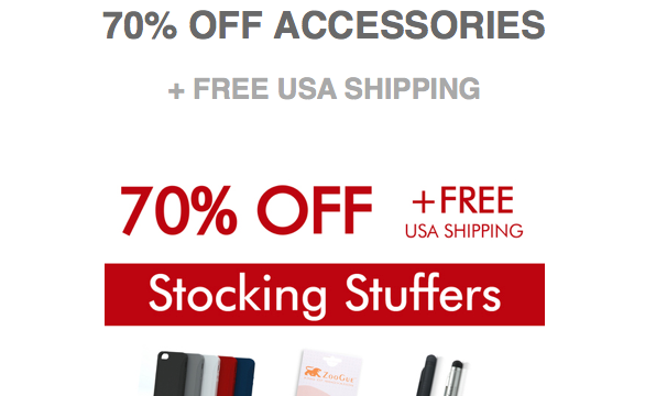 ZooGue's Stocking Stuffers Sale Includes Huge Discounts On iPhone Cases And More