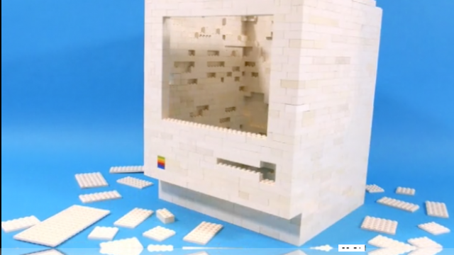 The Classic 1984 Apple Macintosh Is Recreated With LEGO Bricks