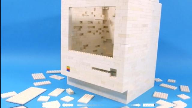 The Classic 1984 Apple Macintosh Is Recreated With LEGO Bricks