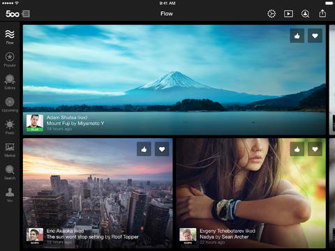 Full iOS 7 Support, Photo Detail Editing And New Login Experience Come To 500px App