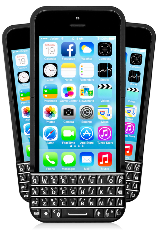Who In Their Right Mind Would Want Their iPhone To Look Like A BlackBerry? Ryan Seacrest!