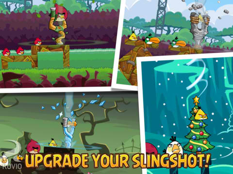 Jingle All The Way With Angry Birds Friends' New Holiday-Themed Tournament