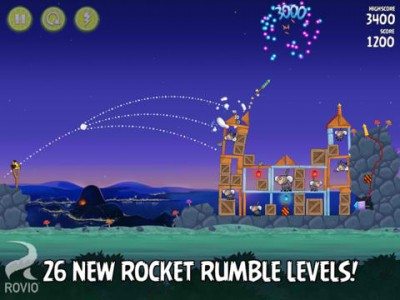 Are You Ready To Rumble? Then Download Angry Birds Rio's Rocket-Powered Update Now