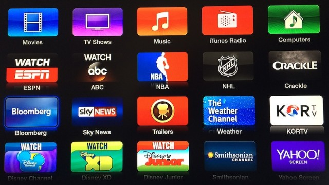Apple Adds ABC, Bloomberg, Crackle And KORTV To Apple TV Channel Lineup