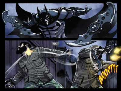 New Batman: Arkham Origins iPad Graphic Novel Lets You Choose Your Own Adventure