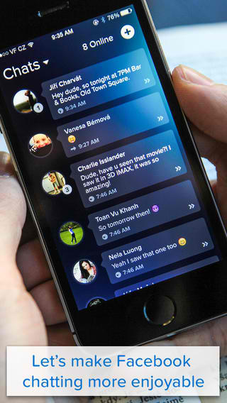 Put Some Pop To Your Facebook Messaging Experience With Bubble Chat