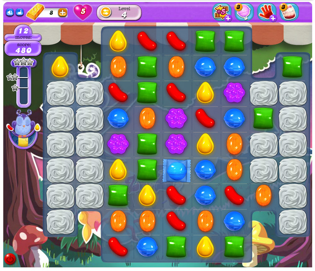 Drift Off Toward Dreamworld And Play Candy Crush Saga Like Never Before