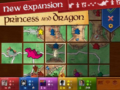 Carcassonne Gains Long-Awaited 'The Princess And The Dragon' Expansion