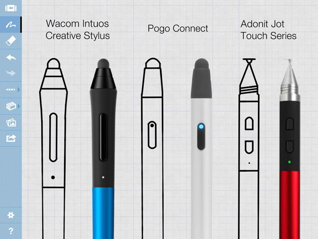 Smart Sketching App Concepts Gains Stylus Support