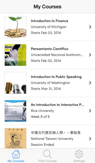 Coursera Launches Official iOS App To Let You Take Online Courses On The Go