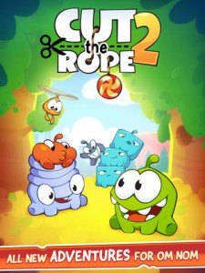 Sweet! Join Om Nom And The Nommies In Cut The Rope 2, Out Now In The App Store