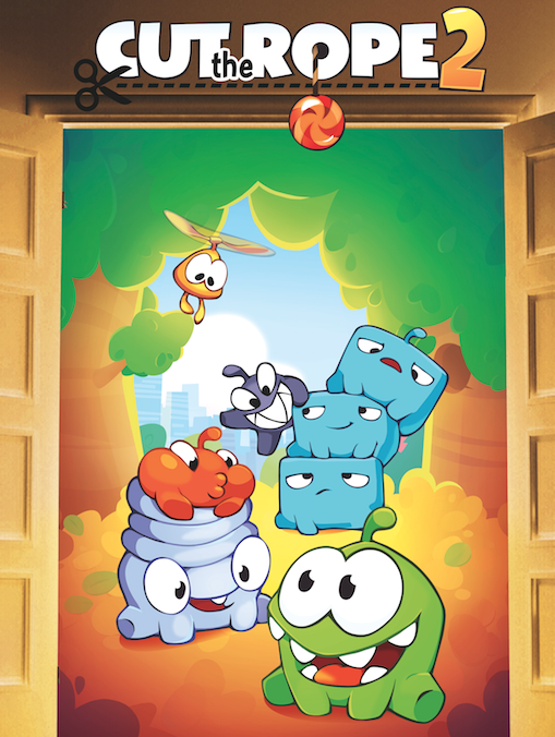 Meet The Nommies, Om Nom's New Friends, In Cut The Rope 2's Intro Video