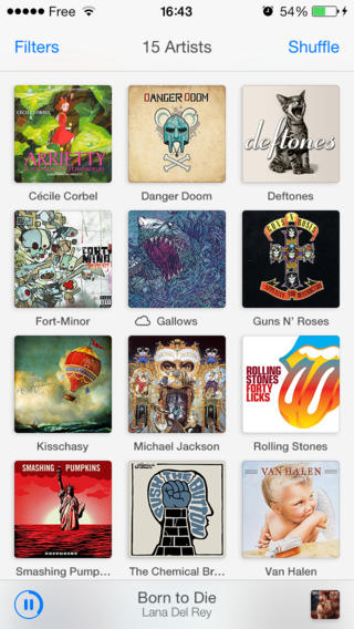 Ecoute 2.0 Features iOS 7 Design Refresh Plus Improved Last.fm Song Scrobbling