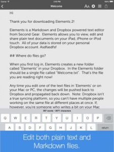 Elements For Dropbox Redesigned For iOS 7 And Updated With New Features