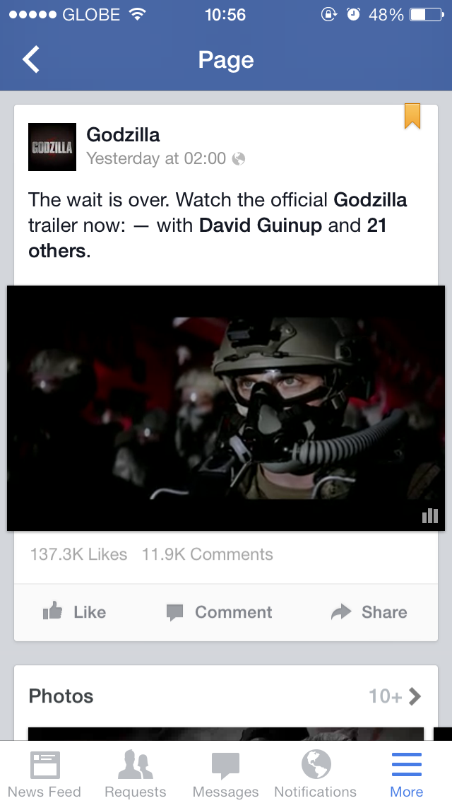 They're Here: Auto-Playing Videos Have Invaded Facebook For iOS