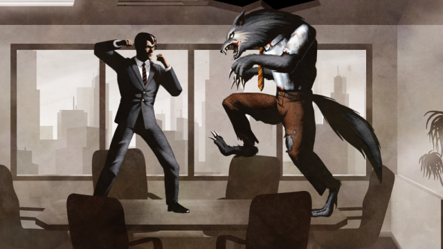 Riverman Media's Werewolf-Bashing The Executive Has Got A New Trailer