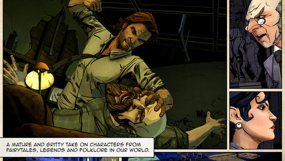 Telltale Brings Dark, Gritty The Wolf Among Us To The App Store