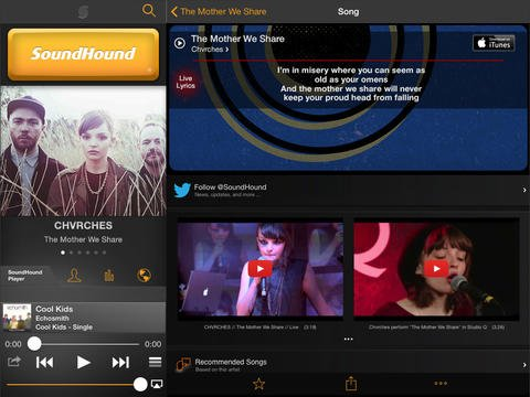SoundHound ∞ Updated To Add iTunes Radio Integration, Improved Search
