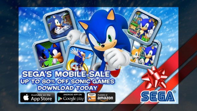 Have A Blue Christmas: SEGA Launches Great Holiday Sale, Up To 80 Percent Off