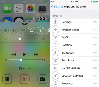 Looking For A Reason To Jailbreak iOS 7? Check Out FlipControlCenter