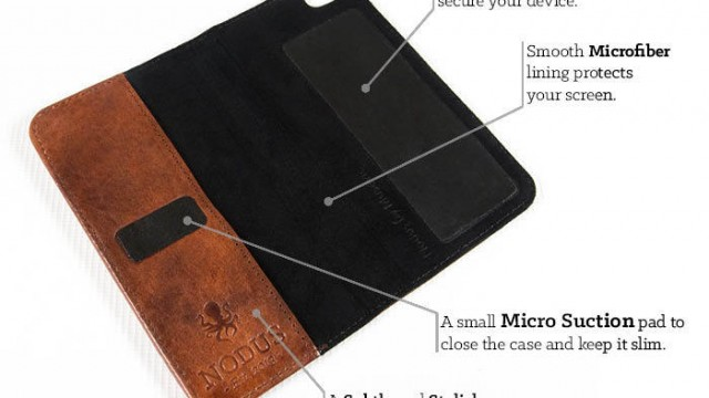 The Access Case Offers Leather Microsuction-Powered Protection For iPhone, iPad