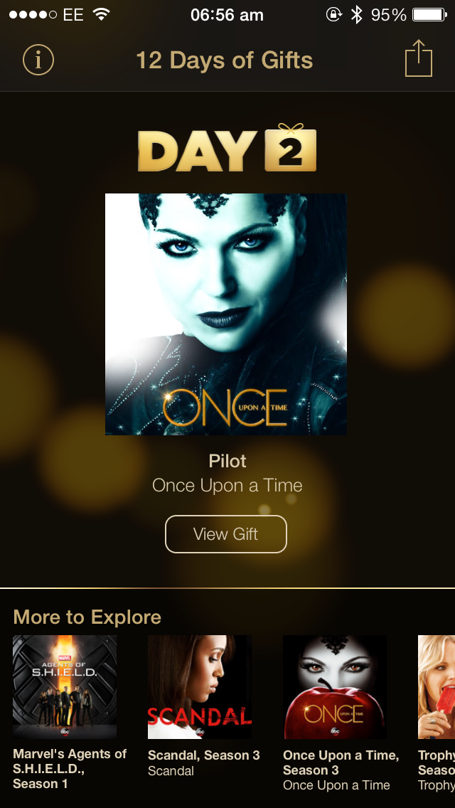 Apple Offers 'Once Upon A Time' Pilot For The Second Day Of Its 12 Days Of Gifts