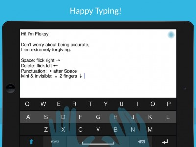 Fleksy's Keyboard Technology Now Integrated Into Launch Center Pro And Other iOS Apps