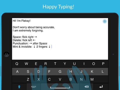 Fleksy 2.0 Features New Engine, Layout And Features For More Flexible Typing