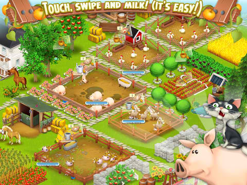 Have Hay-ppy Holidays With Supercell's Popular Farm-Building Game Hay Day
