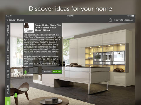 Huzzah houzz interior design ideas app gets remodeled for Houzz design app