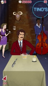 Help Ron Burgundy Enjoy The Perfect Scotch In Anchorman 2: Scotchy Scotch Toss