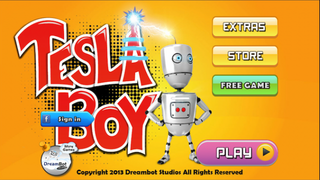 Quirky App Of The Day: Tesla Boy-Robot Time Traveller Needs Help Finding Answers