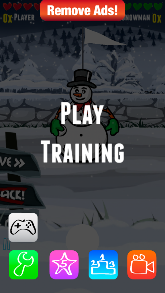Quirky App Of The Day: Survive A Virtual Snowball Duel Against Another Snowman