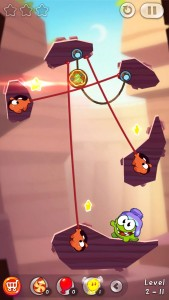 Cut The Rope 2: Om Nom Is Back In A Brand New Adventure For Candy