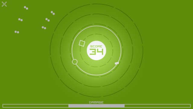 Spin Your Way Around To Avoid Deadly Bullets And Collect Squares In Atomic+